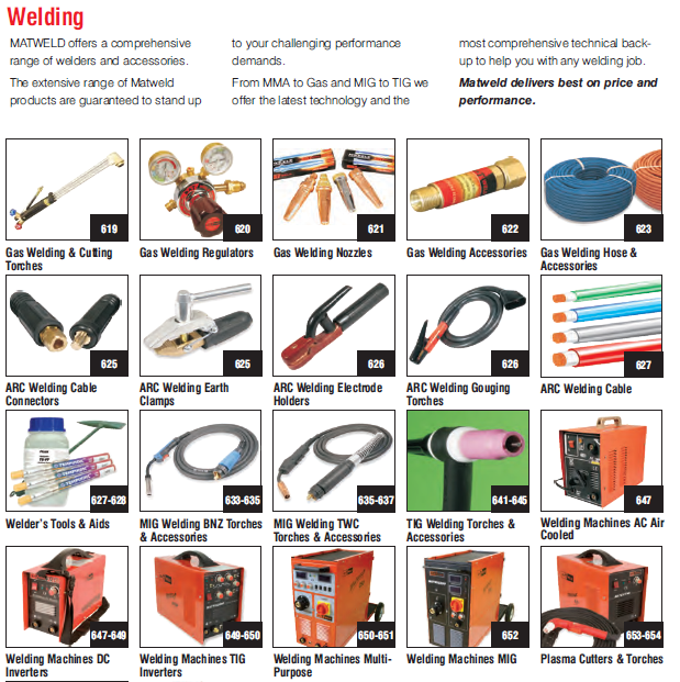 Gas Welding & Cutting torches,Welding Machines Dc Inverters,ARC Welding cables