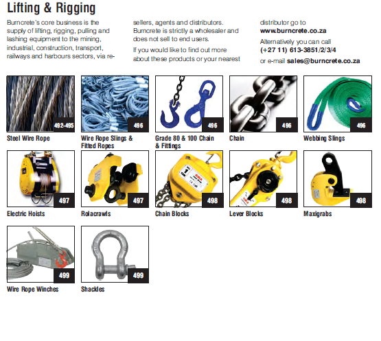 Steel Wire Rope,Chaing Blocks,Rolacrawls,Shackles,Chain
